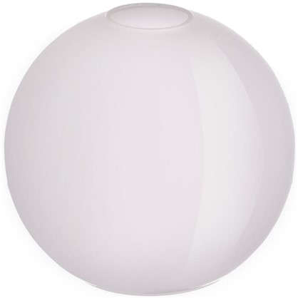 Плафон Полушар 18 см сатин цвет прозрачный
