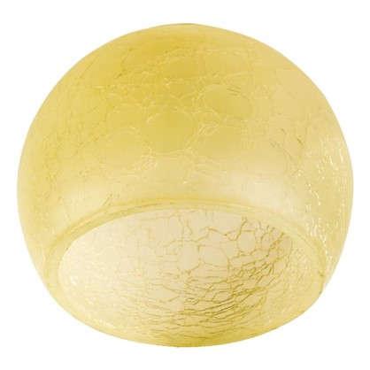 Купить Плафон Сфера E27 цвет прозрачный/желтый дешевле