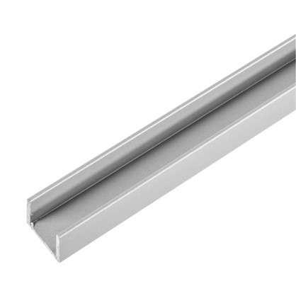 Планка для стеновой панели П-образная 60х1х0.6 см алюминий