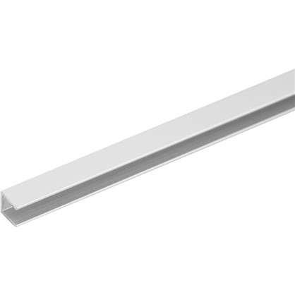 Планка для стеновой панели торцевая 60х1х0.4 см алюминий