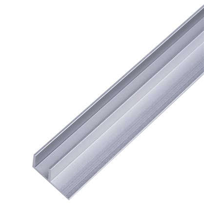 Планка для стеновой панели угловая 60х1.7х0.4 см алюминий