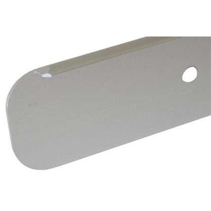 Купить Планка для столешницы торцевая 2.8 см цвет алюминий дешевле