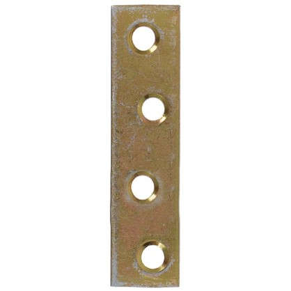 Купить Планка крепежная 14x1.75x60 мм оцинкованная сталь дешевле