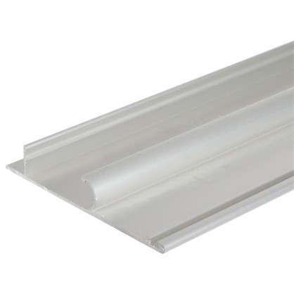 Купить Планка маскировочная Artens 2400 мм цвет серебро дешевле