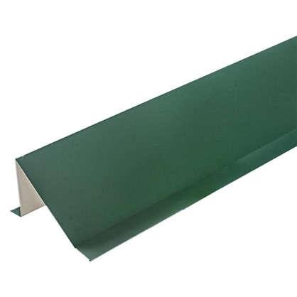 Купить Планка снегозадержания с полиэстеровым покрытием 2 м цвет зелёный дешевле