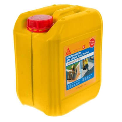 Купить Пластификатор для бетона Sika Sikament BV-3M 5 кг дешевле