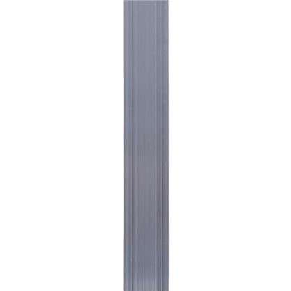 Пластина крепежная 1000x20х2 мм алюминий