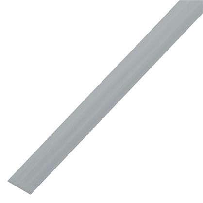 Пластина крепежная 2000x25х2 мм алюминий
