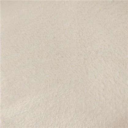 Плед фланелевый 180х200 см цвет белый