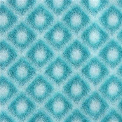 Плед флисовый Play 130х170 см цвет морской волны