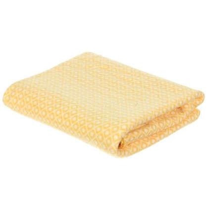 Купить Плед флисовый Play 130х170 см цвет желтый дешевле