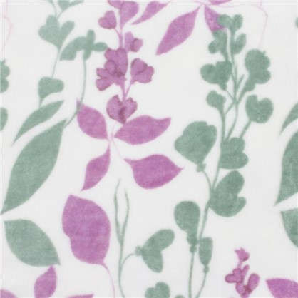 Плед Lilac 180х200 см фланель цвет розовый