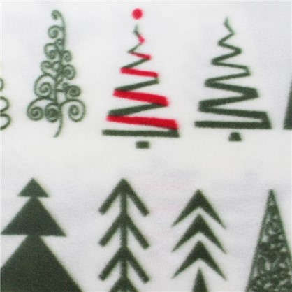 Купить Плед елки-палки 130х170 см флис дешевле