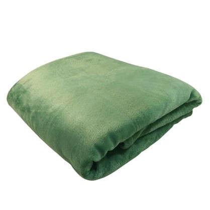 Плед Prestige 200х220 см микрофибра цвет зеленый