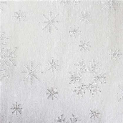 Плед Снегопад 180х200 микрофибра