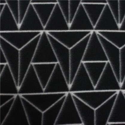 Плед Vector 130х170 см флис цвет черный