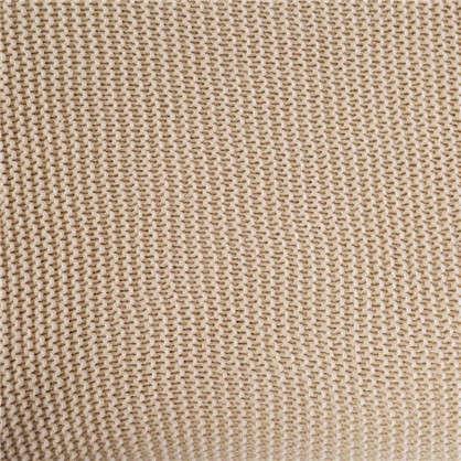 Плед вязаный 140х200 см хлопок цвет бежевый
