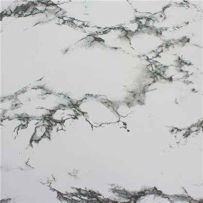 Пленка самоклеящаяся 3958 0.45х2 м мрамор цвет черно-белый