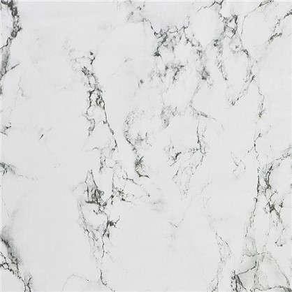 Пленка самоклеящаяся 3958 0.9х2 м мрамор цвет черно-белый