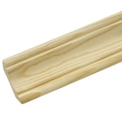 Купить Плинтус 12х25х2500 мм сосна сращённая дешевле