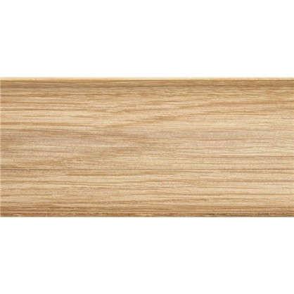 Купить Плинтус напольный Artens ПВХ 65 мм 2.5м цвет прато дешевле