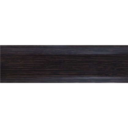 Купить Плинтус напольный ПВХ 55 мм 2.5 м цвет венге дешевле