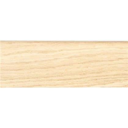 Купить Плинтус напольный шпон 58 мм 2.2 м цвет дуб белый дешевле