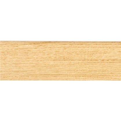 Плинтус напольный шпон 58 мм 2.2 м цвет дуб натуральный
