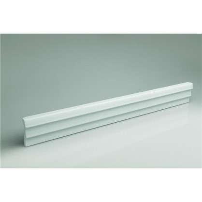 Купить Потолочный плинтус 06504А 200х6.5 см цвет белый дешевле