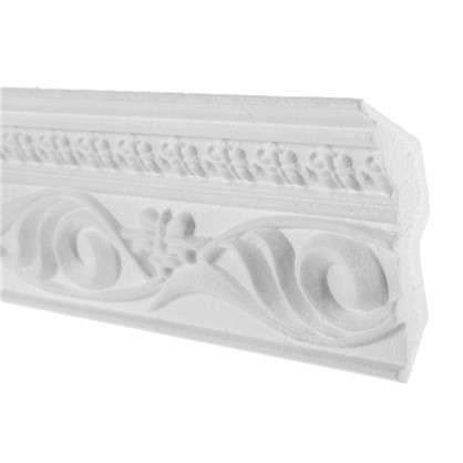 Купить Потолочный плинтус 09007 KD 200х9 см цвет белый дешевле