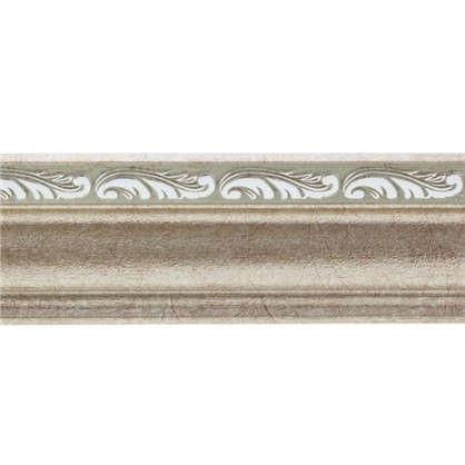 Потолочный плинтус 148B-59 интерьерный 200х4.5 см цвет серебристый