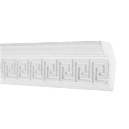 Купить Потолочный плинтус 20006059 200х6 см цвет белый дешевле