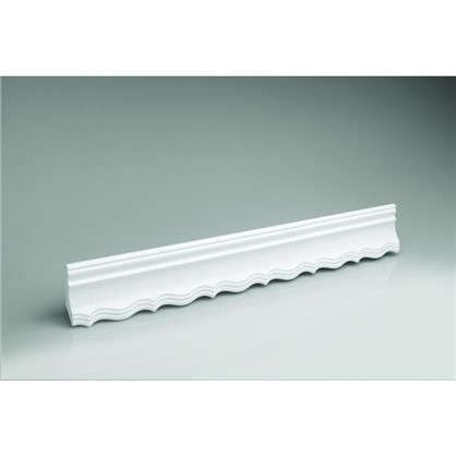 Купить Потолочный плинтус 20007541 200х7.5 см цвет белый дешевле
