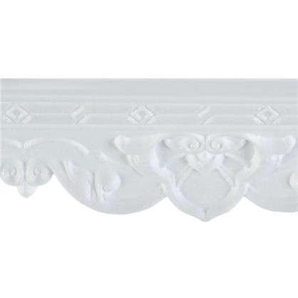 Потолочный плинтус 20009053 200х9 см цвет белый
