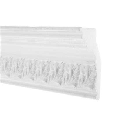 Потолочный плинтус 20011529 200х11.5 см цвет белый цена