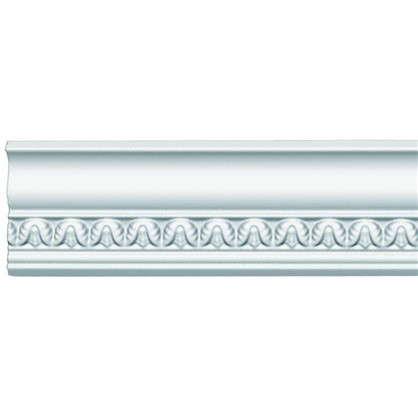 Потолочный плинтус 95348 200х4.9 см цвет белый