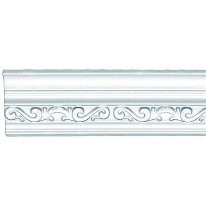 Купить Потолочный плинтус 95842 200х4.9 см цвет белый дешевле