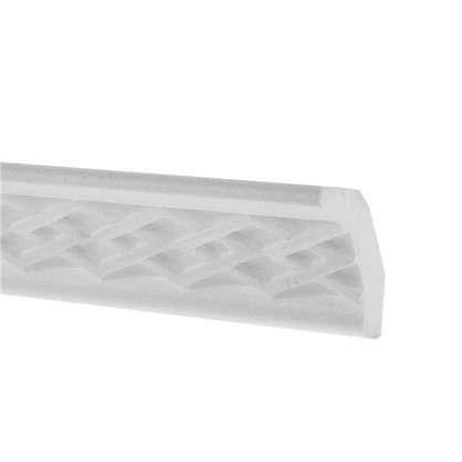 Купить Потолочный плинтус C118/50 200х3.5 см цвет белый дешевле