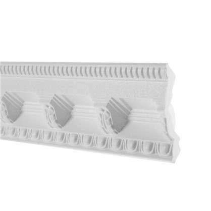 Потолочный плинтус C617/100 200х7 см цвет белый
