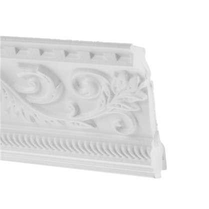 Купить Потолочный плинтус C628/130 200х10 см цвет белый дешевле