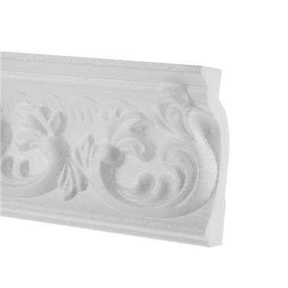 Потолочный плинтус C637/77 200х7.9 см цвет белый