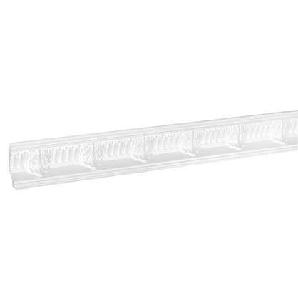 Потолочный плинтус C639/85 200х6.6 см цвет белый