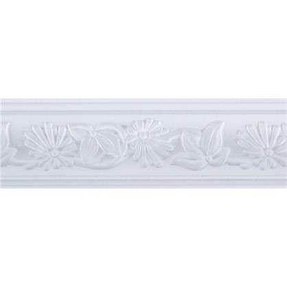 Потолочный плинтус C640/68 200х4.7 см цвет белый