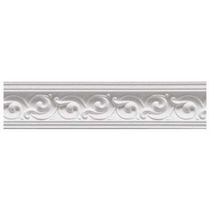 Потолочный плинтус C650/85 200х5.8 см цвет белый