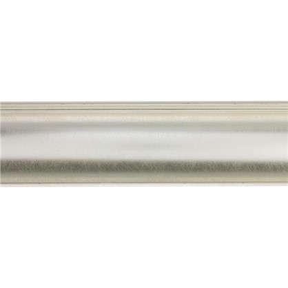 Потолочный плинтус Decomaster  D109-373 43х43х2000 мм цвет серебристый