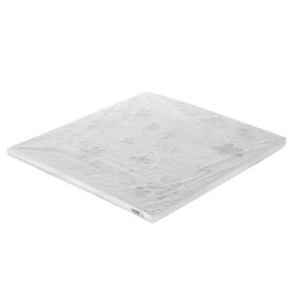 Купить Потолочная плитка экструдированная FX Вьюнок 2 м2 50х50 см пенополистирол цвет жемчужный дешевле