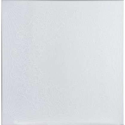 Потолочная плитка экструдированная Вдохновение 2 м2 50х50 см пенополистирол цвет перламутровый