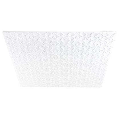 Потолочная плитка инжекционная Гейша бесшовная 2 м2 50х50 см пенополистирол цена