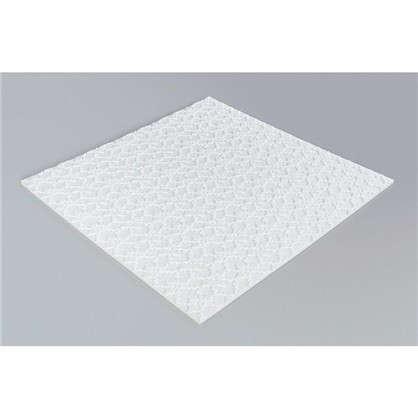 Купить Потолочная плитка инжекционная Гейша бесшовная 2 м2 50х50 см пенополистирол дешевле