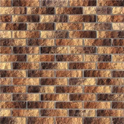 Купить Плитка декоративная Алтен Брик цвет коричнево-медный 0.59 м2 дешевле